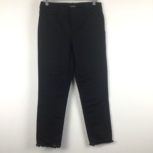 LORD + TAYLOR Black Kelly Ankle Pants Size 4